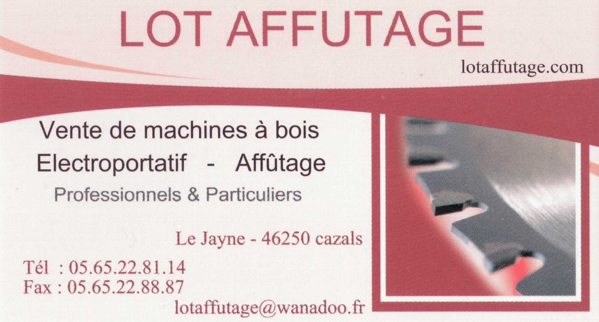 LOT - AFFUTAGE- CAZALS {JPEG}